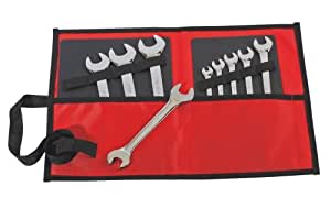Sam outillage - 10N-TR9P - Trousse de 9 clés à fourches en mm