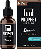 TOP SELLING IN USA! Prophet and Tools Beard Oil and Beard Comb Kit!