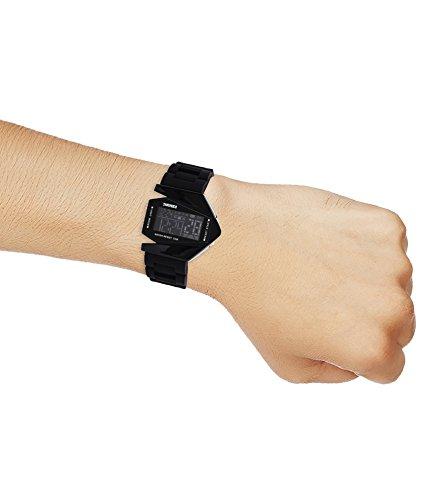 A R Sales Digital Black Dial Boy's Led Watch - Whroc02
