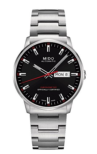 Mido Herren Analog Automatik Uhr mit Edelstahl Armband M0214311105100