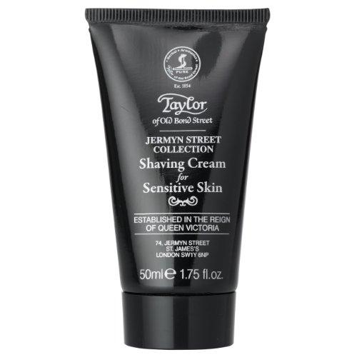 Taylor of Old Bond Street Jermyn Street Shaving Cream Sensitive Skin Reise-Rasiercreme 50 ml