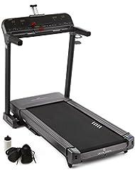 Capital Sports Pacemaker Z-77 Cinta de correr ergometrica (Soporte IPAD, velocidad y inclinación regulable max 20Km/hr 15%, programas instalados de entrenamiento, entrenamiento cardio y resistencia )