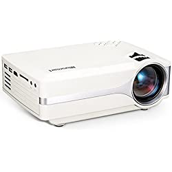 Proyector, Blusmart LED-9400 Video 1080P Full HD Mini Proyector Portátil