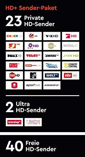 HD+ Karte für 12 Monate Fernsehen in brillanter HD-Qualität - 3