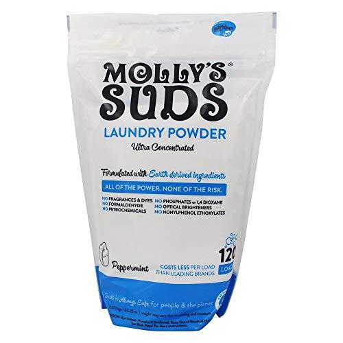 Molly's Suds Detergente en polvo para la colada