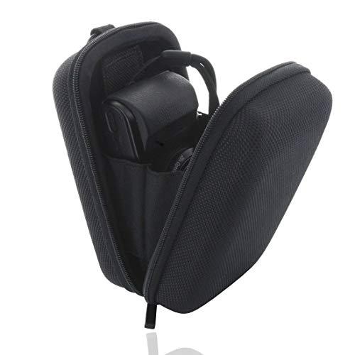 Smart-Planet® Kameratasche extra stabil - mit Handschlaufe - Hardcase für z.B. für Canon PowerShot G7 / G9 X - Sony DSC HX90 RX100 I II III IV V - schwarz