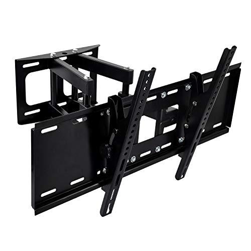 TV Wandhalterung Schwenkbar Neigbar Ausziehbar Universal für 40-70 Zoll (ca. 102-178cm) Wand Halter Aufhängung Fernseh Halterung auch für Curved LCD und LED Fernseher, Max VESA 600x400