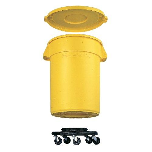 Brute Abfallbehälter Mobil Dolly Optional mobilen Dolly. Geeignet für den Einsatz mit 75 und 121-Liter-Behälter.