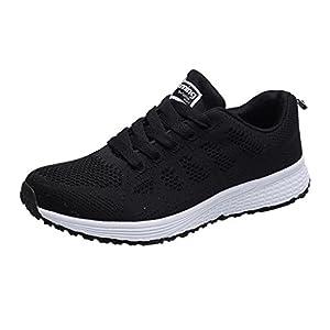 Zarupeng Herren Outdoor Sneaker, Mode Mesh Runde Kopf Sportschuhe Licht Flache rutschfest Turnschuhe Laufschuhe Freizeitschuhe