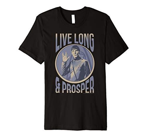 Star Trek Original Series Spock Prosper Premium T-Shirt (Trek Star T-shirts)