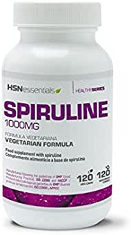 HSN Essentials - ESPIRULINA 1000mg - 120 veg caps