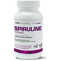 ESPIRULINA 1000mg | HSN Essentials, a base de Algas, Reduce al Apetito, Aumenta tu energía y vitalidad, Antioxidante.