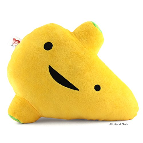 LARGE LIVER Designer Plush Figure - I'm A Liver Not A Fighter from the I Heart Guts Series