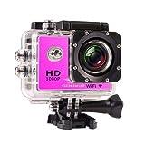 Tery Tägliches Leben liefert Sport Kamera, DV2.0 Zoll 720P im Freien Wasserdichte Kamera Pink