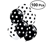 TOYMYTOY Punkt Latex Luftballons | 30 cm Party Supplies Dekoration Ballons für Geburtstag Hochzeit Baby Shower Christmas Festival 100er
