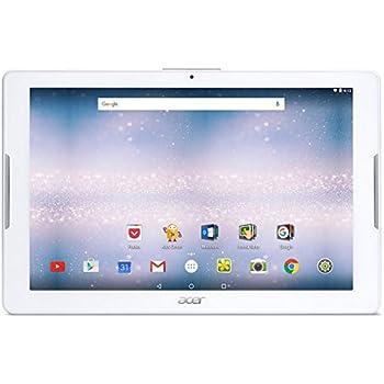 """Acer Iconia One 10 B3-A30-K4QY Tablette Tactile 10,1"""" Blanc (MediaTek MT8163, 1 Go de RAM, SSD 16 Go, Android 6.0) [Ancien Modèle]"""