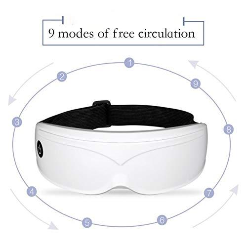Cuidado salud Masajeador ojos eléctrico Pantalla