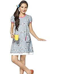 Night Suit for Kids / Girls - Night wear - Nighty -Sinker Material  - Half Sleeve - Branded Valentine Kids Wear -For 6/8/10/12/14/16 Year Girls - Nighty for Girls