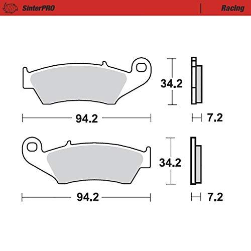 Bremsbelag Moto-Master SinterPRO Racing ohne ABE XL 600 V Transalp PD10 97-00 vorne 9700 Quad