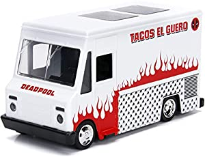 Jada Toys JA99800 Jada 1:32 Camión de Taco Deadpool, Multi