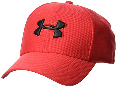 Under armour men's blitzing 3.0 cap, berretto uomo, rosso (red/red/black 600), m/l