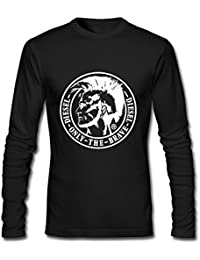 Versace Logo Printing For Mens Long Sleeves Outlet