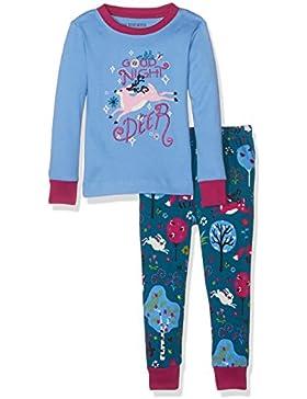Hatley Mädchen Long Sleeve Printed Pyjama Sets