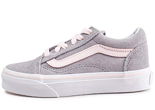 Vans-Old SKOOL VA38HB - Niño Color: Gris Talla: 34