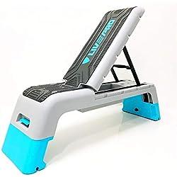 LivePRO Máquinas de Step Plataforma de Entrenamiento Ajustable Deck Step Aerobic Stepper Desk