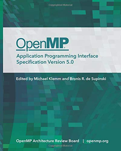 OpenMP Application Programming Interface Specification Version 5.0