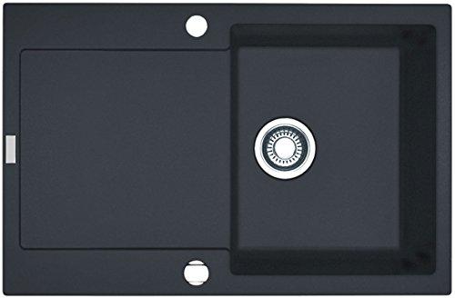 Preisvergleich Produktbild Franke Maris MRG 211-77 Graphit Granitspüle Dunkelgrau flächenbündig Küchenspüle