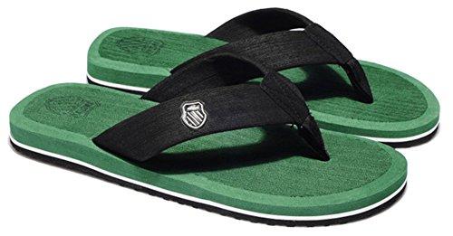 Good Night Uomini classici spiaggia sandalo infradito Verde