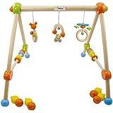Bieco 23000015 - Baby Holz Spieltrapez höhenverstellbar ca. 64 x 55 cm