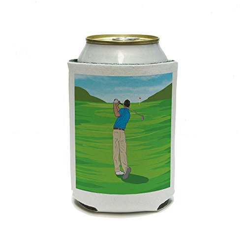 Golf Golf Sport Golf Can Cooler-verre isolant-boissons isolés titulaire