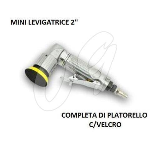 Mini levigatrice ad aria compressa disco 50mm 2