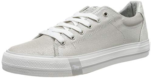 Mustang Damen 1313-302-21 Sneaker, Silber (Silber 21), 38 EU