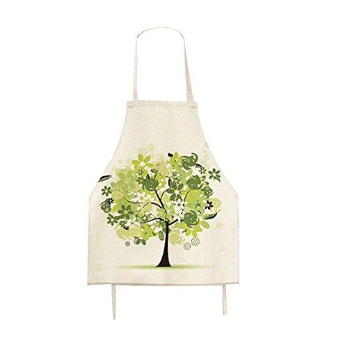 G2Plus Baking Craft Motivo Tela di Cotone Grembiule grembiuli da cucina Chef Grembiulino regalo ideale per arti e casa lavoro,