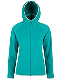 Mountain Warehouse Veste Polaire femmme Confort Multifonctions Respirant Lleyn