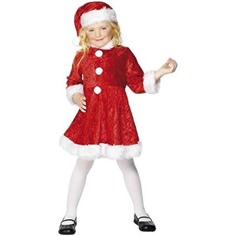 Disfraz de mamá Noel encantadora para niña - 7-9 años