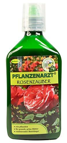 PFLANZENARZT® Rosenzauber | Blattdünger für Rosen | Organischer PK-Flüssigdünger | 350ml