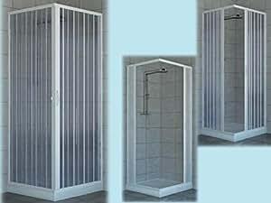 Box doccia cabina doccia pvc angolare larghezza 70 - Box doccia fai da te ...