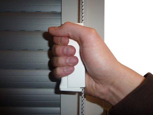 Rollladen Schnurzughilfe / Gurtzughilfe für Rolladen und Jalousie mit 4,5mm Schnurzug oder 14mm Mini Gurtband Jalousien Mini