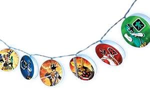 Power Rangers Benross Group Toys Power Rangers 20 Led String Lights