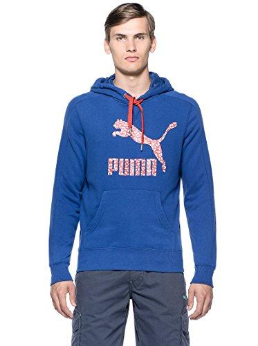 Puma Etnic Logo Felpe Nuovo Abbigliamento Uomo Bluette