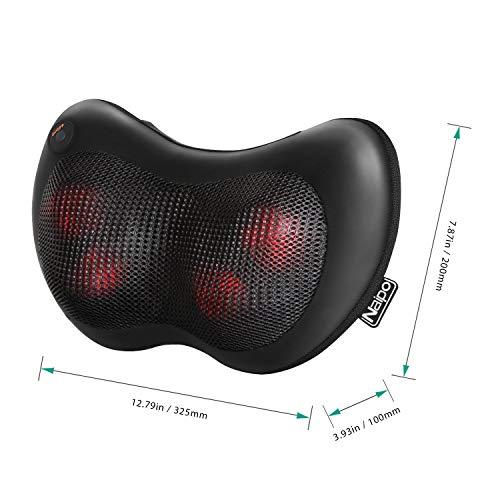 Naipo Shiatsu Massagekissen für Nacken Rücken Taille Massage - 6