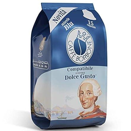 Caffè Borbone Compatibili Nescafè®*Dolce Gusto®* Miscela Blu – Confezione da 90 Capsule