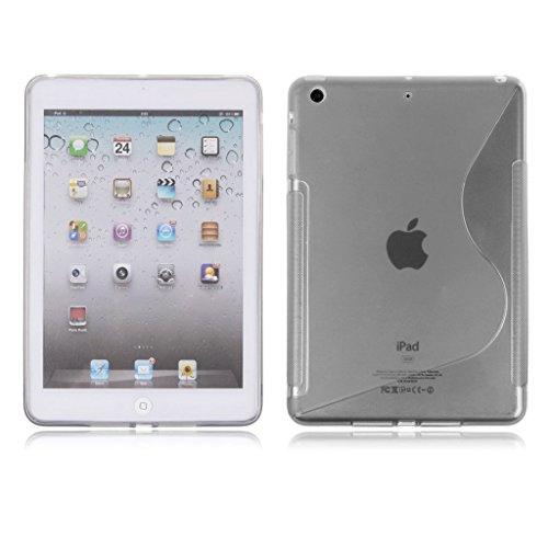 Preisvergleich Produktbild Premium Apple iPad 3grau Schutzhülle Silikon Gel S-Line Wave Design Case Cover für Apple iPad 3