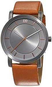Danish design mujeres-reloj analógico de pulsera cuarzo cuero 3324573 de Danish Design