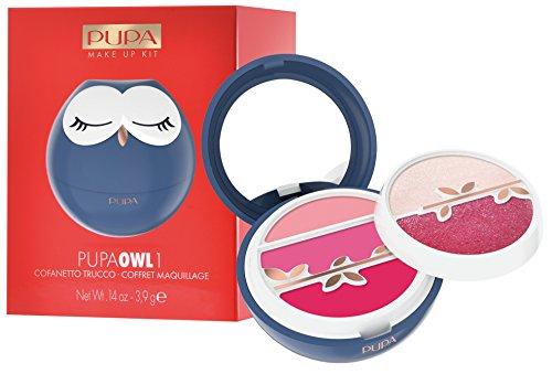 PUPA Trousse Owl 1003 Azul Maquillaje Y Cosméticos