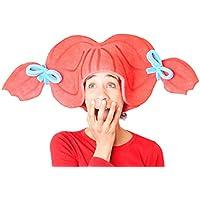 Sombrero de gomaespuma coletas